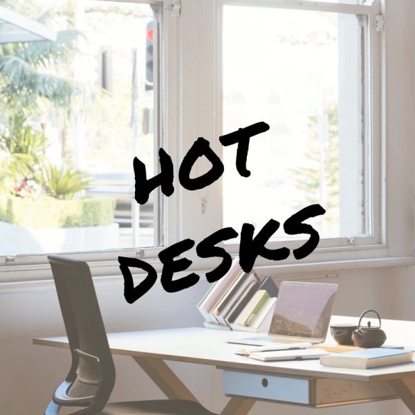 hot desks for hire